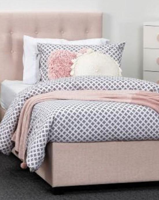 Lola Blush Single Bed