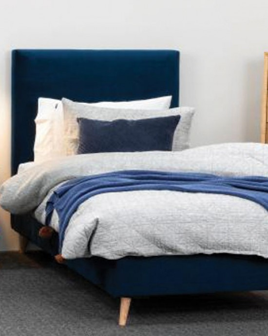 Ollie Indigo Single Bed